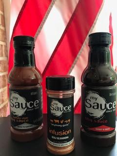 Sauce It Up! Rub It Up!