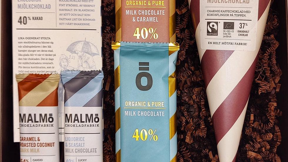 Mjölkchoklad-bonanza