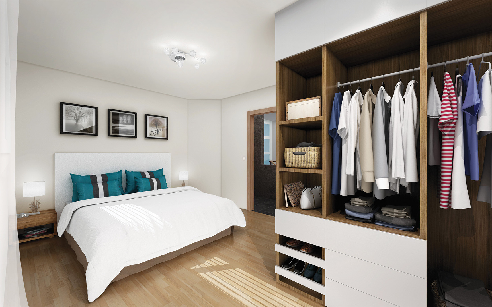 Residence Champ-Bally, vue interieur, chambre