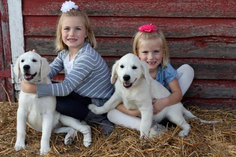 Four adorable girls! (Chloe on left)