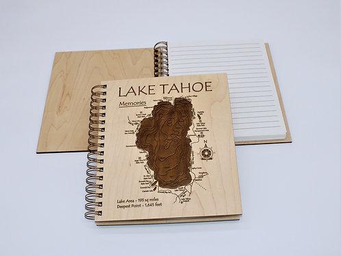3D LASER CUT JOURNAL - LAKE TAHOE