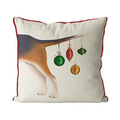 DOG TAIL WITH ORNAMENTS