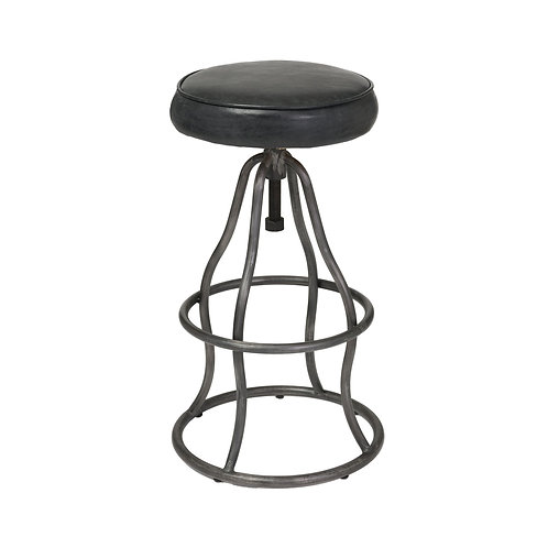 BAR STOOL - BLACK VINTAGE COLOR