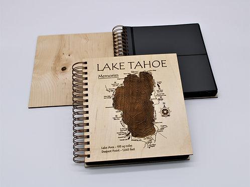 3D LASER CUT PHOTO ALBUM - LAKE TAHOE