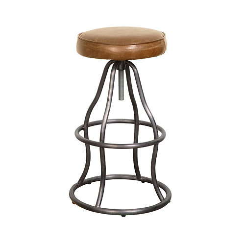 BAR STOOL - COGNAC COLOR