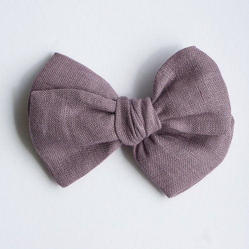 Knotted /Linen Purple