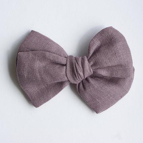Kopie von Knotted /Linen Purple