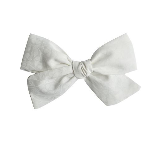 Mini Knotted/ Floral White