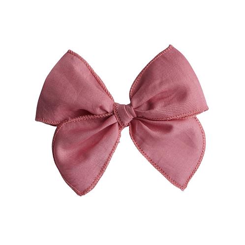 Vintage Bow/ Cerise