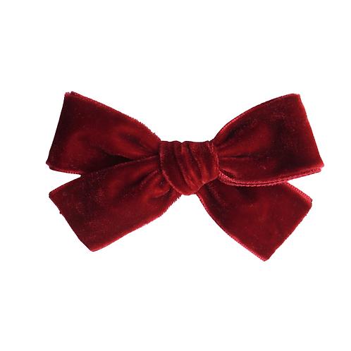 Velvet/Christmas Red