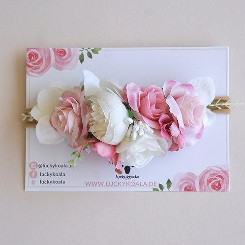 Blumen Haarband/Rose
