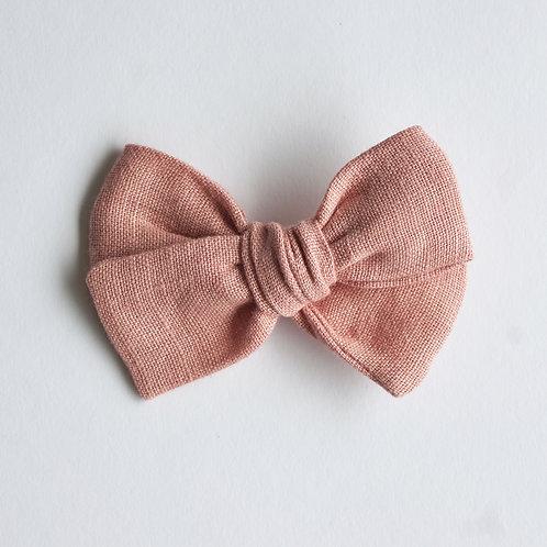 Mini Knotted /Linen Desert Rose