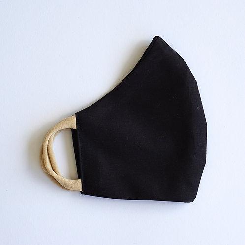 Stoffmaske/Black