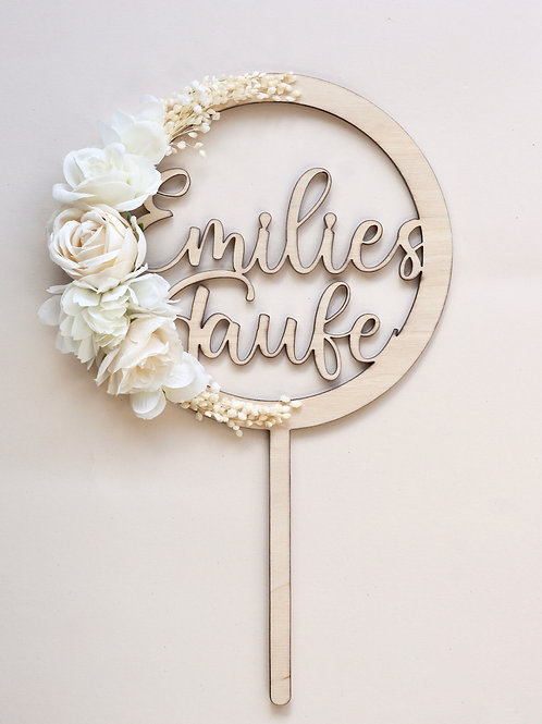Cake Topper / Taufe