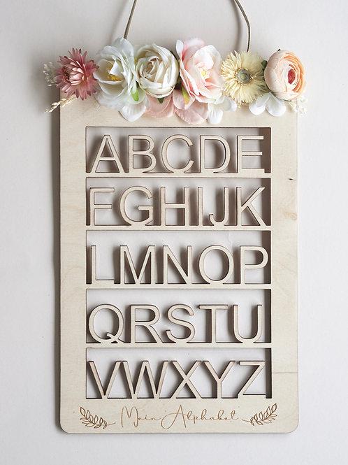 Blumen Alphabet