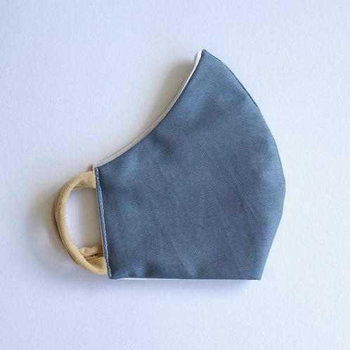 Stoffmaske/ Grey Blue