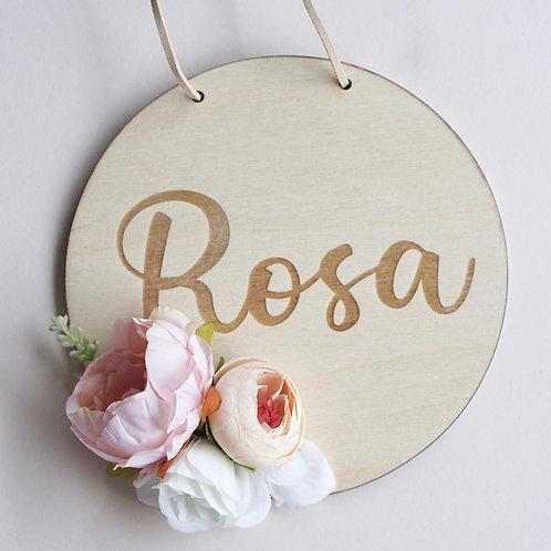 Namensschild / Bohemian Blossom