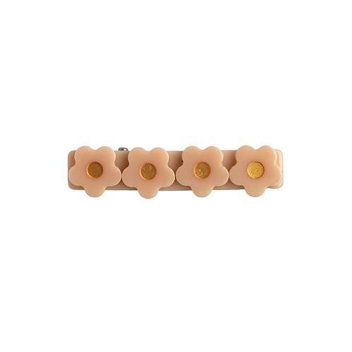 Flower Clip / Nude