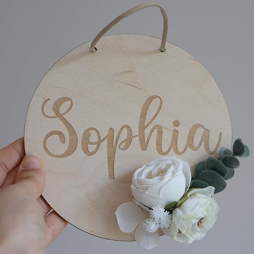 Namensschild /Sophia