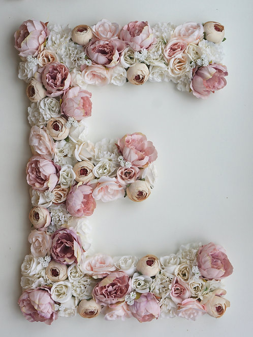 Blumen Buchstabe / Bohemian Blossom