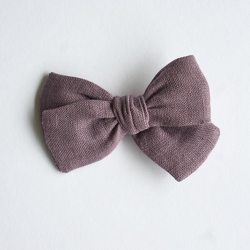 Kopie von Mini Knotted /Linen Purple