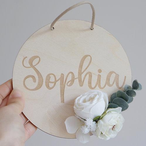 Namensschild / Simply Floral