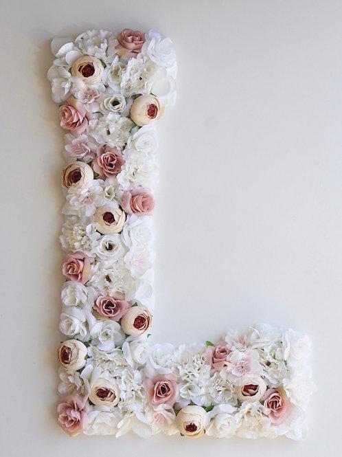 Blumen Buchstabe / Vintage Dreams