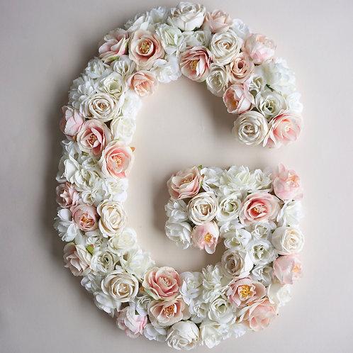 Blumen Buchstabe / Floral Vintage