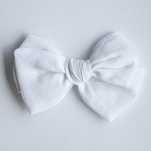 Knotted /Linen White