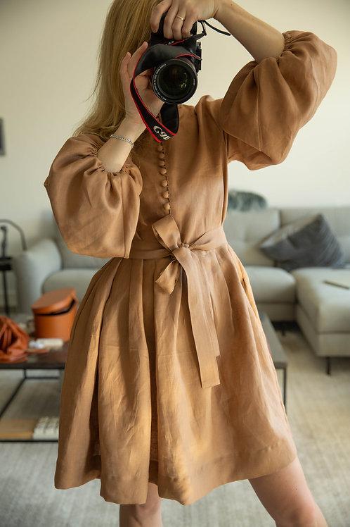 Caramel Matryoshka dress