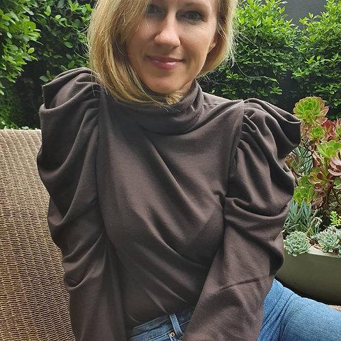 Woolen Merino Turtleneck Sweater