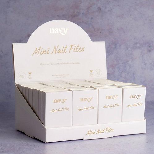 Navy® Mini Nail File Box (12 pieces)