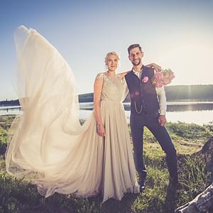 Novomanželé Davidovi
