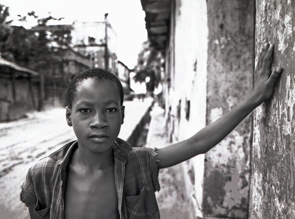 Ivory Coast boy