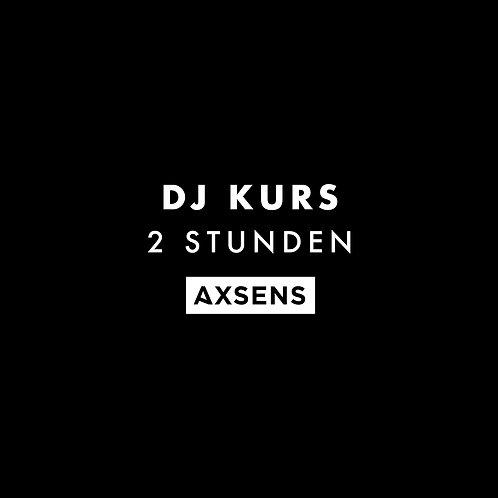 DJ Kurs (2 Stunden)