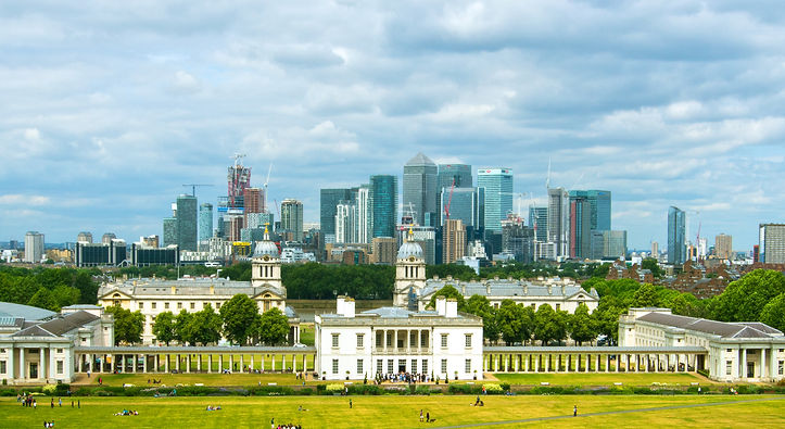 Greenwich Universeaty, and Canary Wharf
