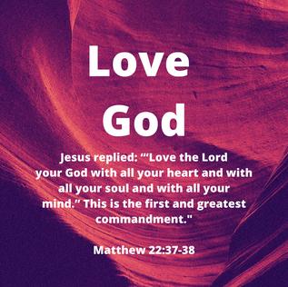 """Love_God_Jesus_replied__'""""Love_the_L"""