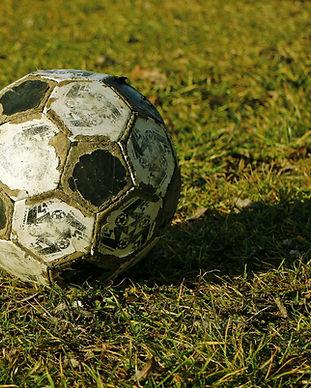 Alter Fußball-Spielball