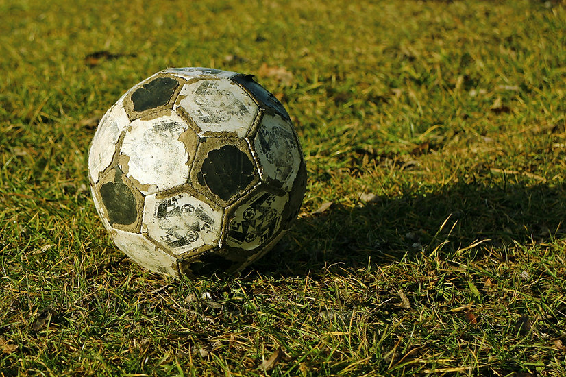 Old Soccer Ball