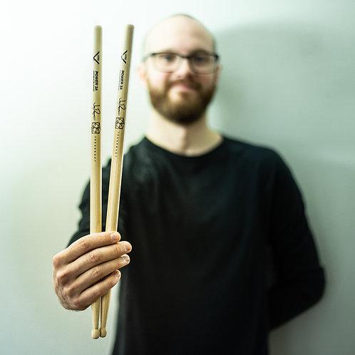 Jay Postones Signature - Vater Power 3A drum sticks (pair)