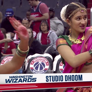 Studio Dhoom @ Washington Wizards NBA Half-time Show
