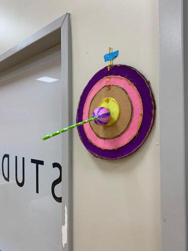 Bullseye Dartboard!