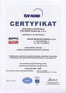 Сертификат на модульные леса