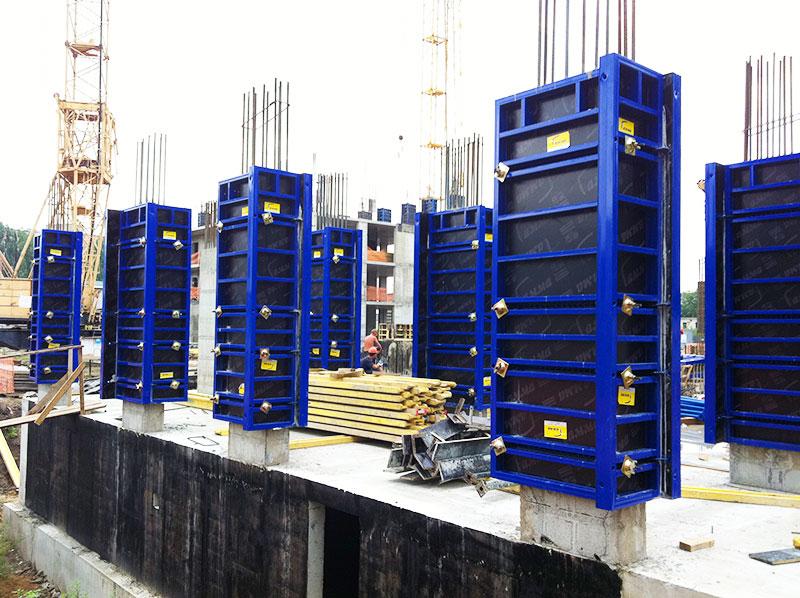 Опалубка колонн стальная