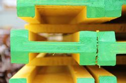 балка двутавровая деревянная