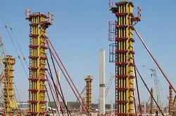 Опалубка колонн балочно-ригельная