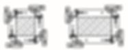 Схема формирования колонн линейными щитами