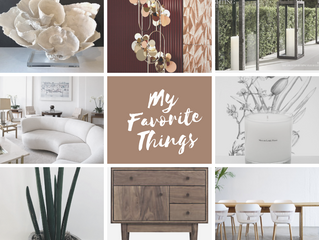My favorite things for Spring