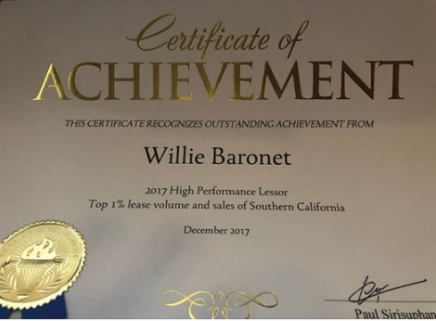 2017 Achievement Award
