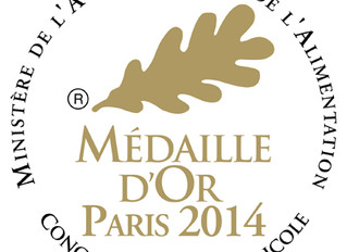 Our 2012 vintage awarded Gold and Silver